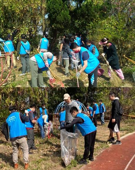 VisEra_Volunteer Services_新埔鎮文山國小景觀服務